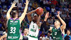 Baloncesto - Eurocup 4ª jornada: Unicaja Málaga - Unics Kazan