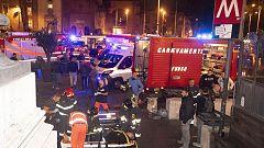 Más de 20 hinchas del CSKA heridos tras la rotura de unas escaleras mecánicas en el metro de Roma