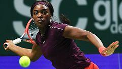 Tenis - WTA Torneo Finals Singapur (China): S. Stephens - K. Bertens