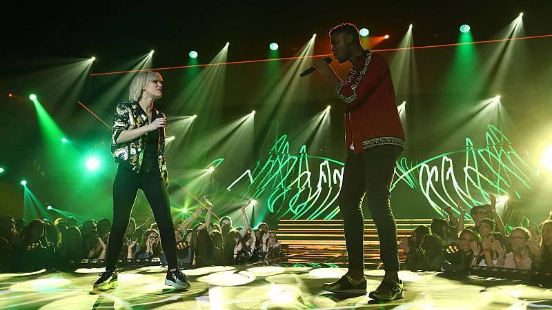 "OT 2018 - Alba y Famous cantan ""Fast car"" en la gala 5"