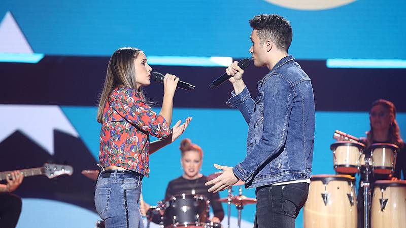"OT 2018 - Damion y Sabela cantan ""Volar"" en la gala 5"