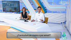 ¿Currículum en mano o por correo electrónico?