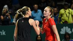 Tenis - WTA Torneo Finals Singapur (China): P. Kvitova - K. Pliskova