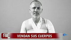 """Corazón - Javier Gutiérrez y Alba Flores vendan sus cuerpos en apoyo a la """"piel de mariposa"""""""
