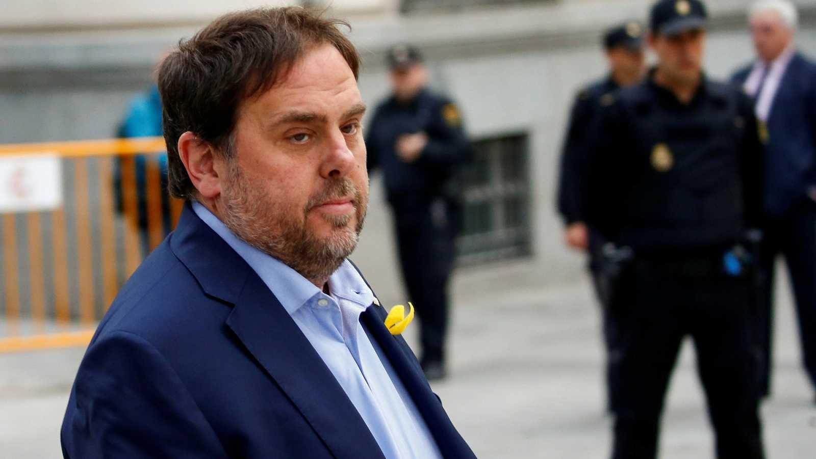 El Supremo abre juicio oral contra Junqueras, Forcadell y nueve exconsellers