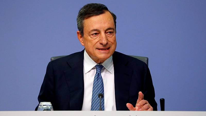 Draghi asegura que las conversaciones con Italia para un acuerdo sobre su presupuesto continúan