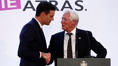 Sánchez se compromete ante el actor Richard Gere y RAIS Fundación a impulsar medidas para las personas sin hogar