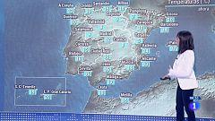 Lluvias fuertes en Andalucía y temperaturas en descenso en la Península