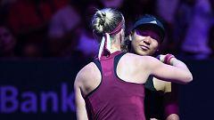 Tenis - WTA Torneo Finals Singapur (China):  N. Osaka - K. Bertens