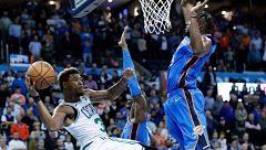 Los Celtics ganan a los Thunder de Abrines