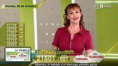 Sorteo ONCE - 26/10/18