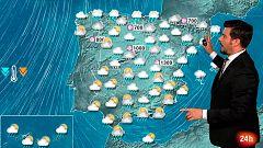 Temporal en la Península y en Baleares, con nieve y desplome de las temperaturas