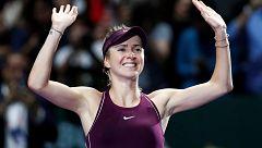 Tenis | Finales WTA 2018: Svitolina se corona 'maestra' frente a Stephens