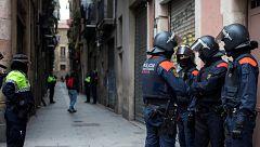 Redada contra el narcotráfico de heroína en Barcelona