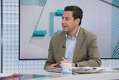 Juanma Moreno (PP) descarta el 'sorpasso' de Cs en Andalucía pero espera pactar con ellos para gobernar