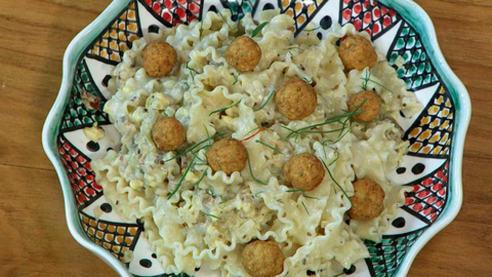 Torres en la cocina - Pasta con berenjenas