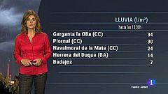 El tiempo en Extremadura - 30/10/18