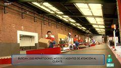 2.500 empleos navideños en una empresa de paquetería