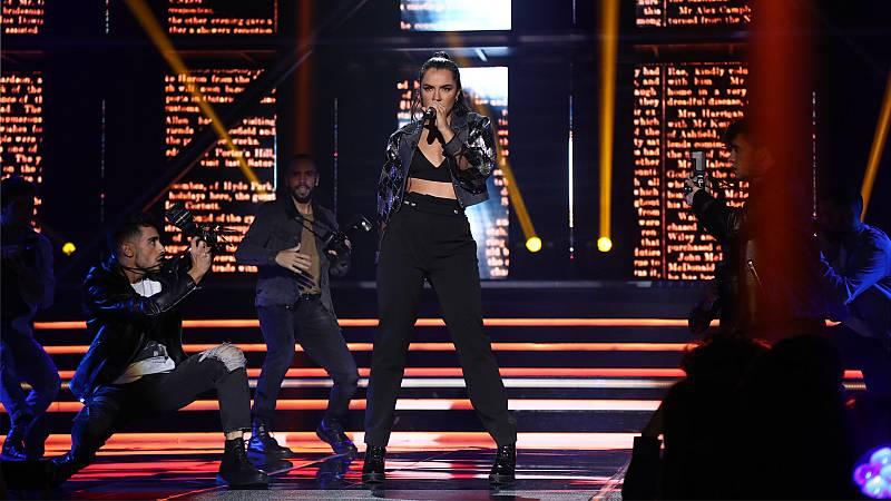"""OT 2018 - Marta canta """"Leave me alone"""" en la gala 6"""