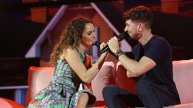 """OT 2018 - Carlos y Marilia cantan """"Lucky"""" en la gala 6"""