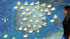 Lluvias en Baleares y norte peninsular y subida de las temperaturas