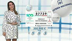 Lotería Nacional + La Primitiva + Bonoloto - 01/11/18