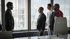 Estoy vivo - Márquez, Iago y Sebas acuden al despacho de Mendieta
