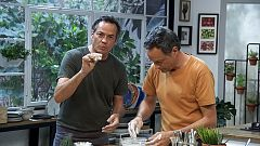 Torres en la cocina - Fideos con verduras y mochis