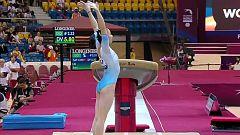 Gimnasia artística - Campeonato del Mundo. Final Femenina Salto