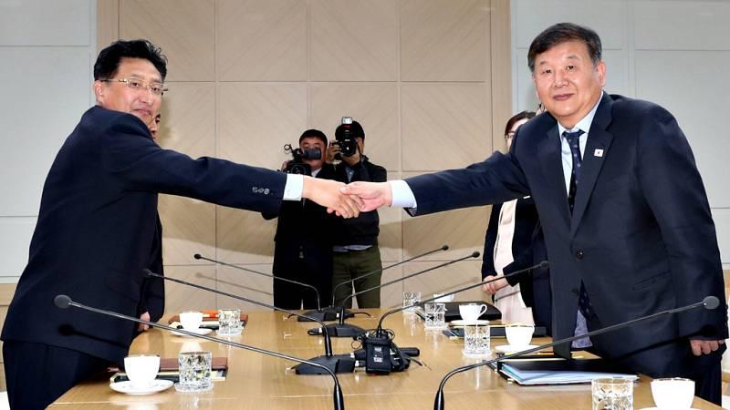 Las dos Coreas han acordado formalizar ante el Comité Olímpico Internacional (COI) su intención de presentar una candidatura para organizar de manera conjunta los Juegos Olímpicos de 2032, informaron hoy medios locales.