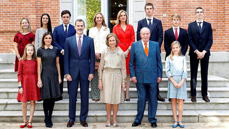 La madre del rey ha reunido a toda la familia en la Zarzuela, incluida la infanta Cristina