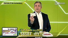 Sorteo ONCE - 02/11/18