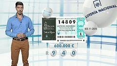 Lotería Nacional - 03/11/18