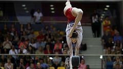 Gimnasia artística - Campeonato del Mundo. Final Femenina Barra equilibrios
