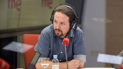 """Pablo Iglesias en RNE: """"Hay que asumirlo, no hay que tener miedo a unas elecciones"""""""