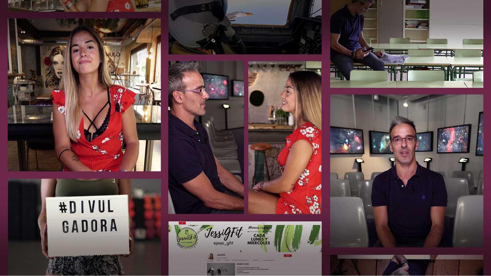 Millennial Files - Programa 6 - Divulgadores: JessiGfit y David Calle