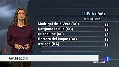 El tiempo en Extremadura - 05/11/18