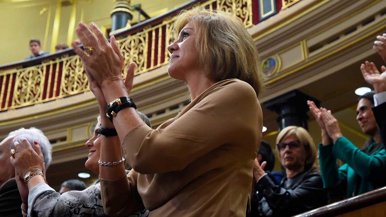 Caso Villarejo: Cospedal deja la Ejecutiva del PP aunque seguirá como diputada