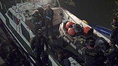 La Mañana - Dos pateras intentan cruzar el Estrecho y llegar a Cádiz y Melilla