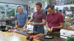 Torres en la cocina - Trinchat de calabacines y Ossobuco Wellington