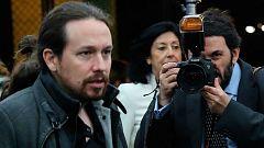"""Pablo Iglesias avisa al Gobierno de que """"no es muy sensato tratar de aguantar la legislatura sin un acuerdo de presupuestos"""""""