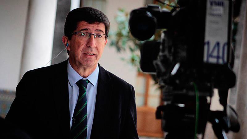 Entrevista a Juan Marín (Ciudadanos) en Los Desayunos de TVE
