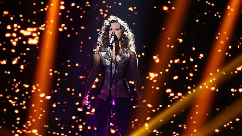 """OT 2018 - Noelia canta """"Stone cold"""" en la gala 7"""
