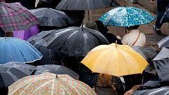 Precipitaciones localmente fuertes o persistentes en Galicia