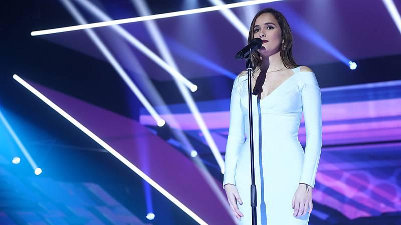 """OT 2018 - Marilia canta """"María se bebe las calles"""" en la gala 7"""
