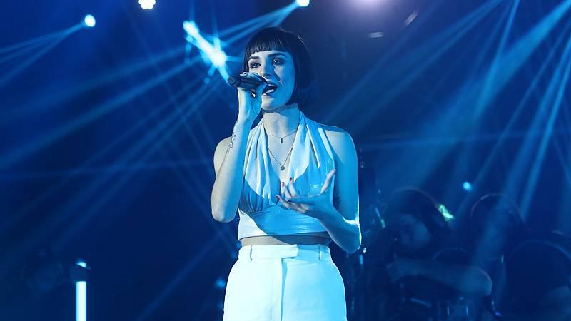 """OT 2018 - Natalia canta """"Flames"""" en la gala 7"""