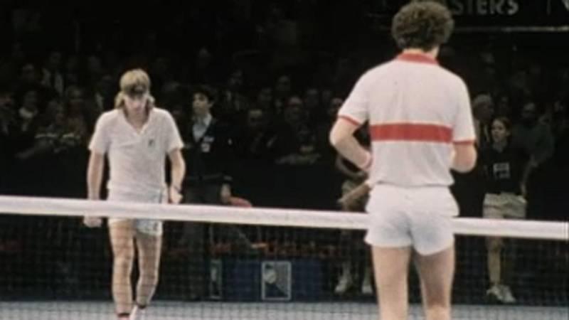El mundo del tenis - Retrato de un tenista