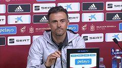 Fútbol - Luis Enrique: Lista de convocados y rueda de prensa del seleccionador español