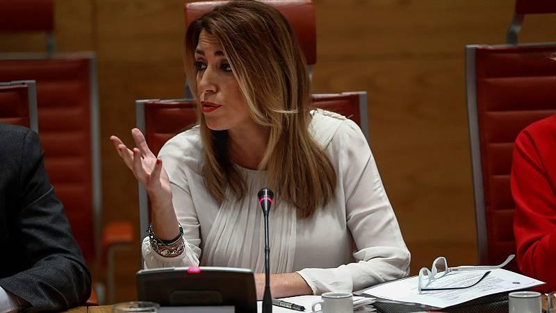 """El PP acusa a Susana Díaz de 'enchufar' a cuatro familiares y habla de """"posible financiación ilegal"""" del PSOE"""