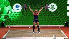 Halterofilia - Campeonato del Mundo 2018 Final 81 Kgs. Femeninos